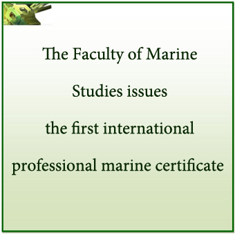 The Faculty of Marine Studies issues the first international professional marine certificate after the recognition of the Kingdom of Saudi Arabia