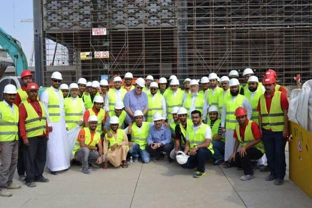 Visit Haramain High Speed Rail Project in Jeddah station